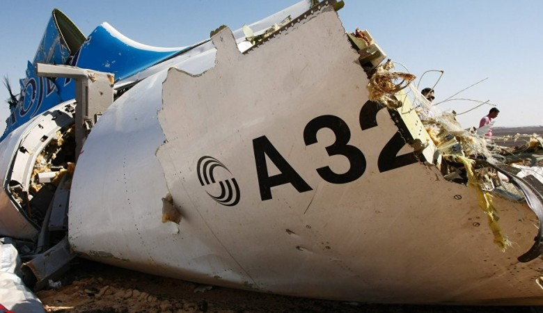 Russia says bomb did down Airbus A321 plane over Egypt last month