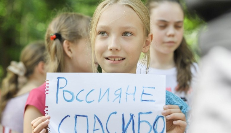 Ukrainian refugees kicked out in the street in Murmansk